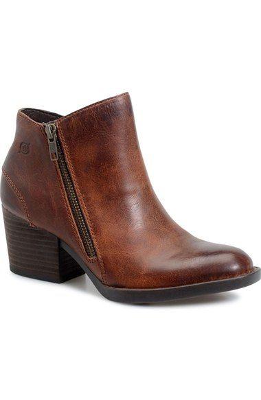 Børn 'Rowell' Block Heel Bootie (Women) available at #Nordstrom