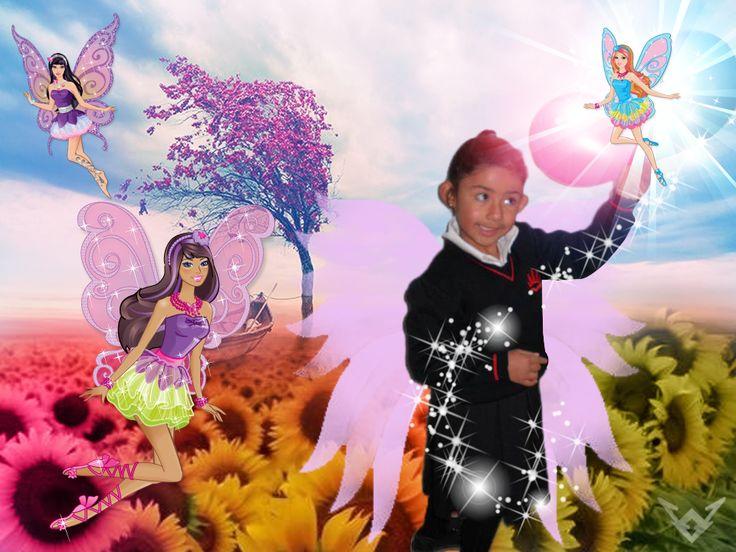 Fotomontaje niños