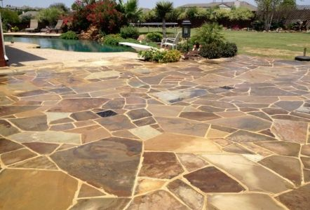 Oklahoma brown flagstone google search upchurch plant Flagstone patios colleyville tx