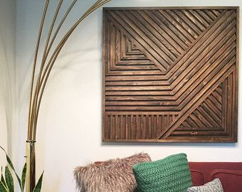 Wood Wall Sculpture Wood Art Abstract Art от ModernRusticArt