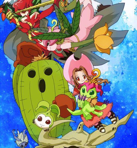 Digimon Adventure: Mimi with Palmon's Evolutions