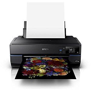 Epson SureColor P800 Standard Edition UltraChrome HD Inkjet Photographic Printer, 2880x1440 dpi, Wi-Fi: Office Products