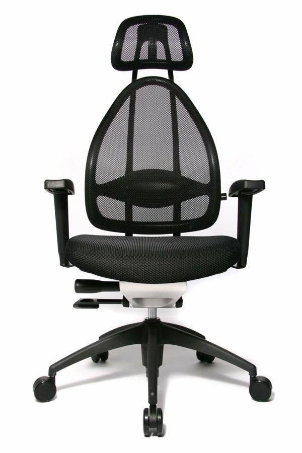 Moderne Buroeinrichtung Schick Im Buro Sitzen Burostuhl Burodrehstuhl Stuhle