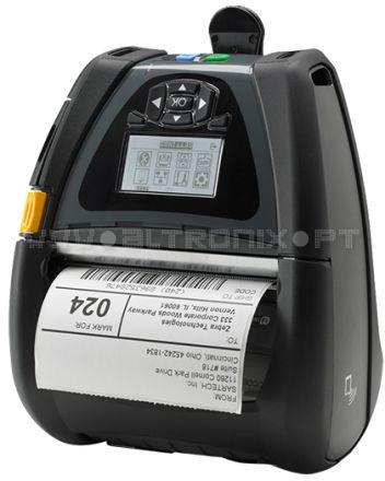 Impressora Portátil QLn420 A QLn420 proporciona o tipo de construção robusta necessária para o uso mais eficaz em ambientes difíceis e exigentes.  Conveniência e facilidade de utilização quando é mais precisa: quando se está em mobilidade. A QLn420 proporciona o tipo de construção robusta necessária para o uso mais eficaz em ambientes difíceis e exigentes