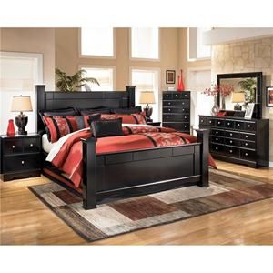 Nebraska Furniture Mart  Ashley 5 Piece Shay King Bedroom Set Decorating Ideas Pinterest bedroom furniture mart and Bedrooms