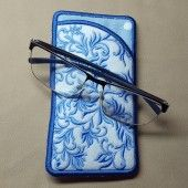 I found this Embroidery Design for only: $5.50 on aStitchaHalf.com! Blue Song Eyeglass Case is the ideal, chic eyeglass case that fits easily into your purse, tote bag or just in your pocket. It easily fits the normal sunglasses or eyeglasses.This SUPER EASY fun project is completely done ALL IN THE HOOP! No sewing required! Easy Step by Step information included in your download. Size of Eyeglass case when complete:3.43
