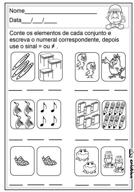 ideias para o outono jardim de infancia : ideias para o outono jardim de infancia:Mais de 1000 ideias sobre Matemática No Jardim De Infância no