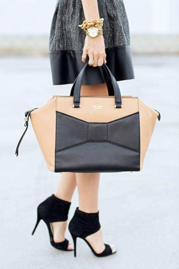 Kate Spade Beau bag, Brian Atwood heels.