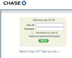 chase bank southwest credit card login
