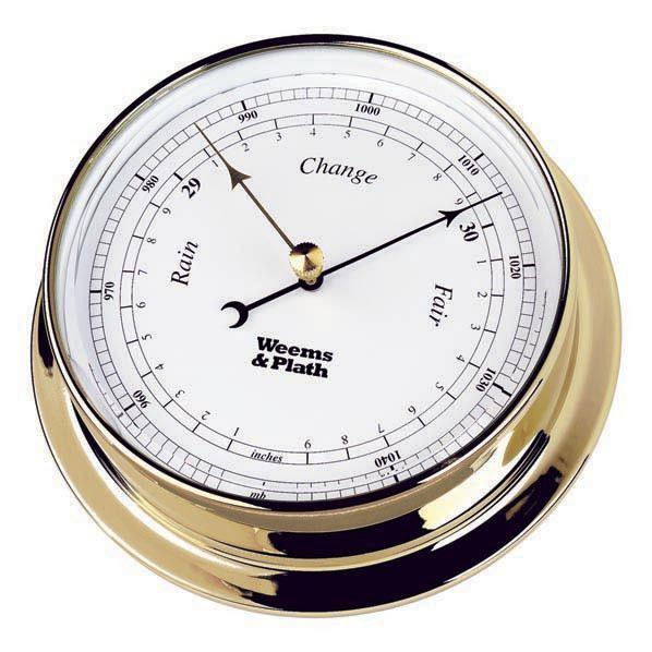 how to read a barometer