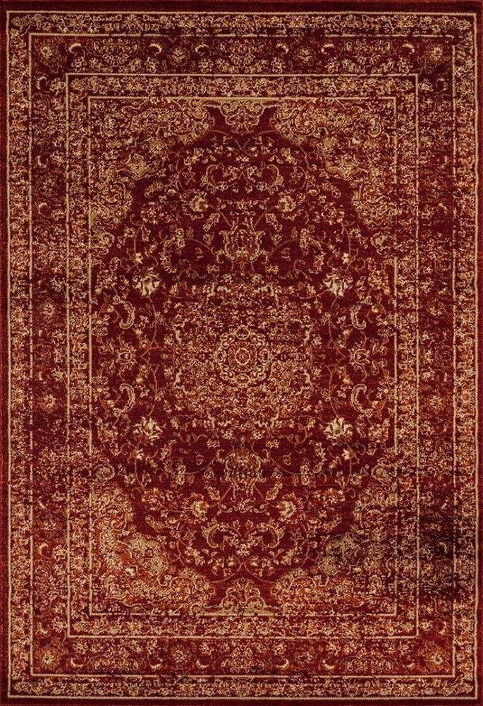 New Burgundy Persian Rug 5x7 Oriental Isfahan Carpet 8x10 Traditional Area Rugs #Unbranded #Oriental