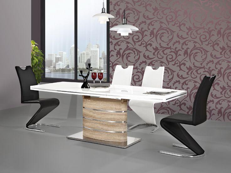 Przepiękny stół Fano to mebel który będzie pasował do mniejszych jak i większych pomieszczeń dzięki funkcji rozkładania pozwoli ugościć więcej znajomych. Podstawa mebla wykonana z płyty mdf oraz stali szczotkowanej. Stół nie tylko jest świetnym meblem, ale sprawdzi się także jako nowoczesna dekoracja. Eleganckie ozdoby na środku.