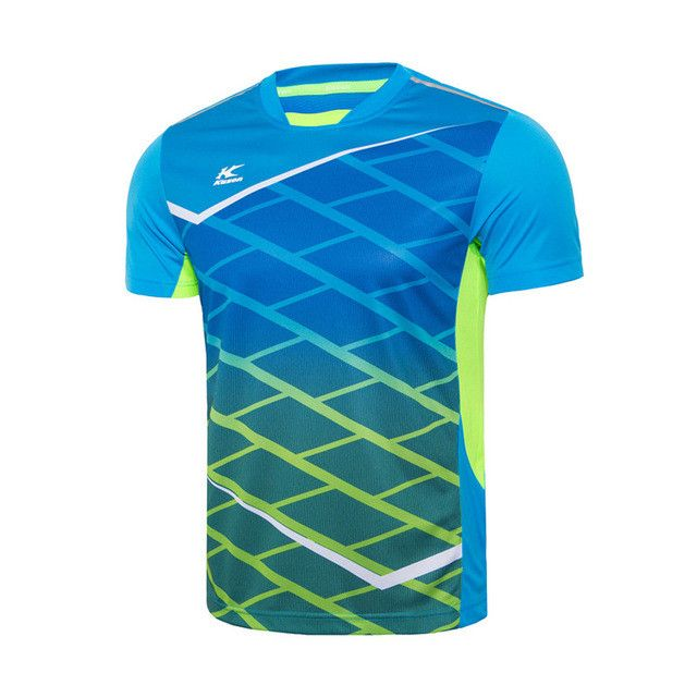 Men's Badminton T-Shirt Quick Dry 100% Polyester Fitness Comfort Sports T-Shirt Tee