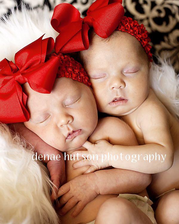 Newborn twin photography judith land