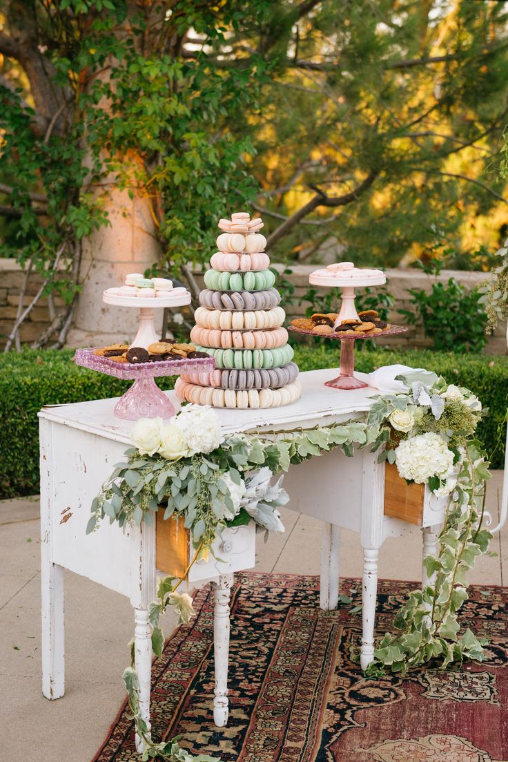 Read More: http://www.stylemepretty.com/2015/01/08/elegant-blush-ivory-outdoor-wedding/