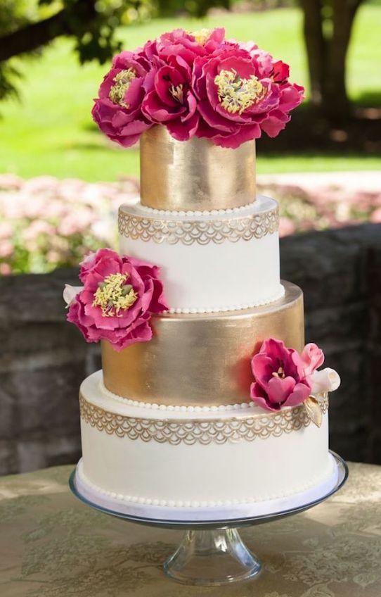 Featured Photographer: Edward Fox Photography, Featured Cake: Elysia Root Cakes; Wedding cake idea.