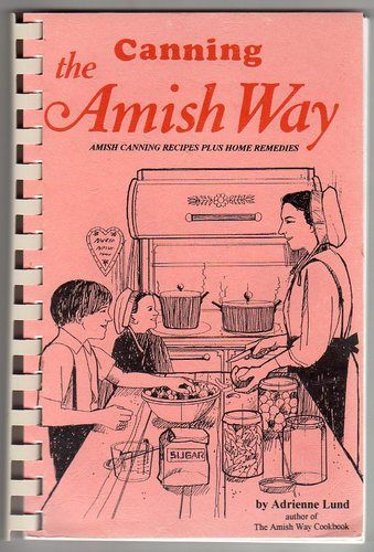 Amish canning recipe book