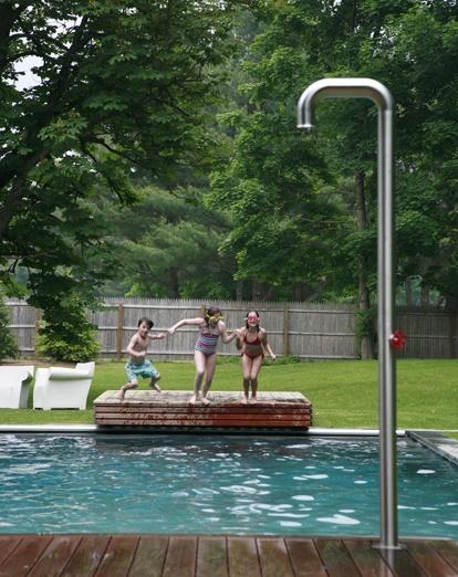 Modern Pool Novogratz House In Ma Love The Jump Off