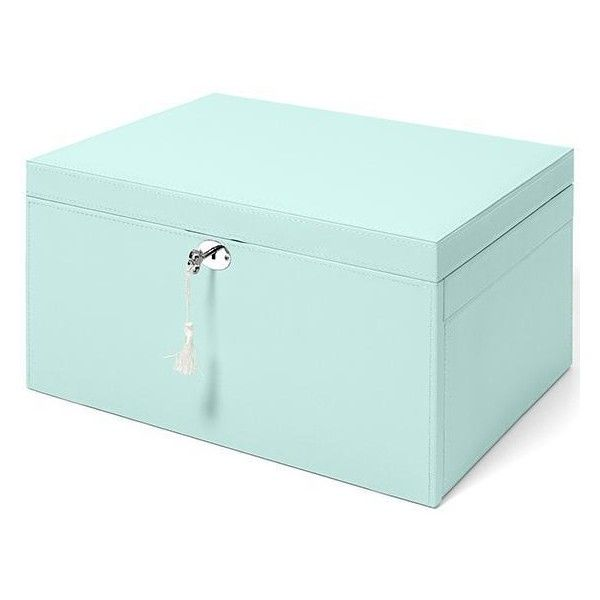 Novelle Large Jewelry Box (8025 RSD) ? liked on Polyvore featuring home home  sc 1 st  Pinterest & 41 best Leather jewelry box large images on Pinterest | Jewelry ... Aboutintivar.Com