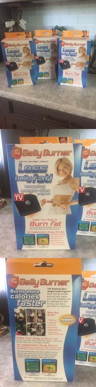 Toning Belts 57273: Set Of 3 The Belly Burner - Brand New -> BUY IT NOW ONLY: $38 on eBay!
