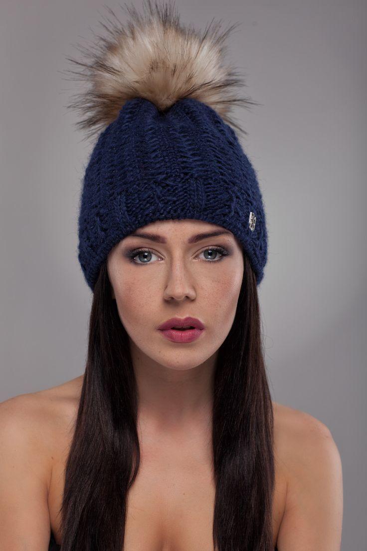 Ulter czapki - Model 27 #ulter #caps #woll #winter #inspiration #fashion