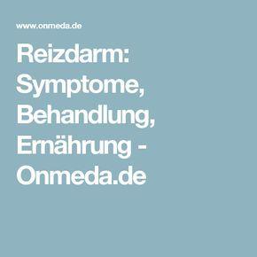 Reizdarm: Symptome, Behandlung, Ernährung - Onmeda.de
