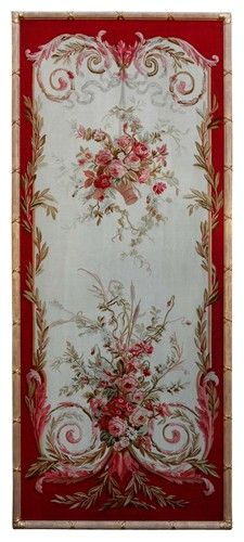 Framed Napoleon III Aubusson Tapestry Panels - $15000.