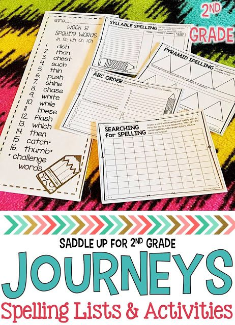 This is a set of Journeys spelling lists to SUPPLEMENT the 2nd grade curriculum. 30 weeks are included along with 12 ink friendly spelling activities to use with any of the lists. All of the activities also come with center instructions. Check out this blog post for more details.