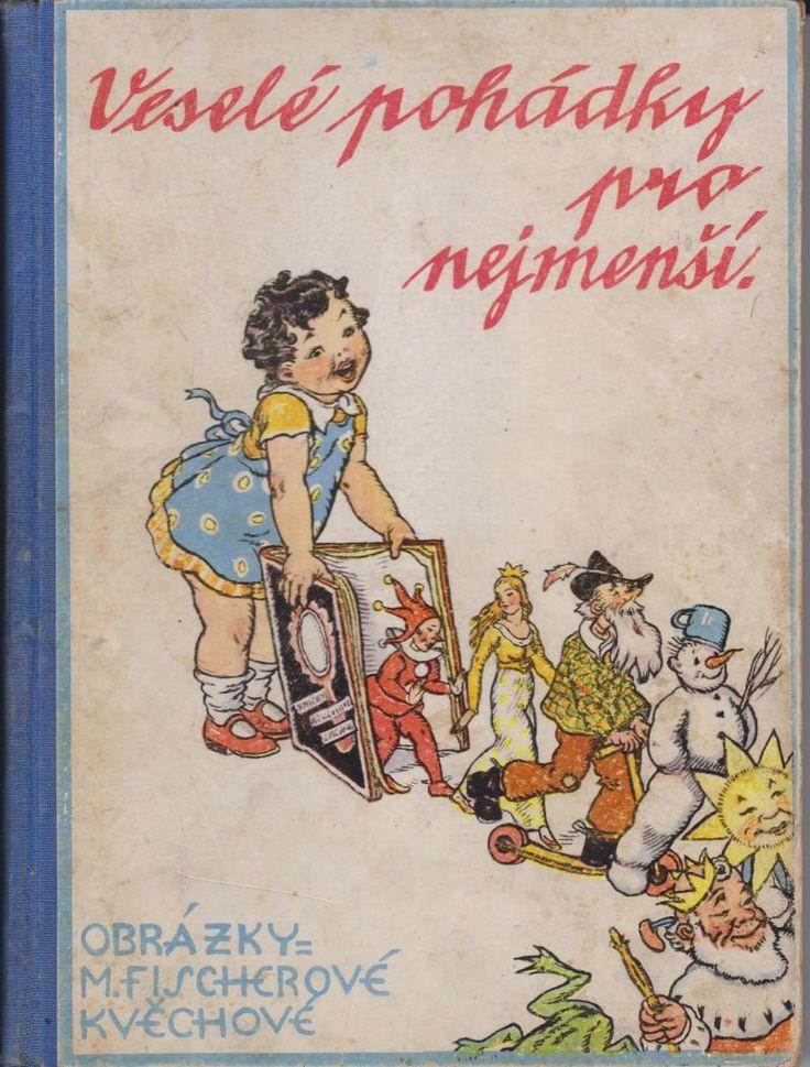 Illustration M. Fischerová-Kvěchová  Josef Hokr, Praha, ca. 1930