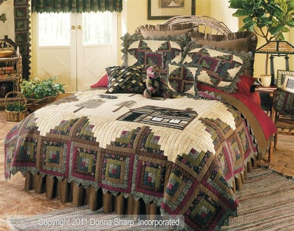 Northwoods Quilt Ensemble By Donna Sharp Northwoods
