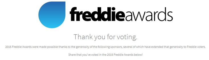 Freddie Awards: Here's my vote for the top frequent flyer and loyalty programs - what's yours? - http://www.pointswithacrew.com/freddie-awards-heres-vote-top-frequent-flyer-loyalty-programs-whats/