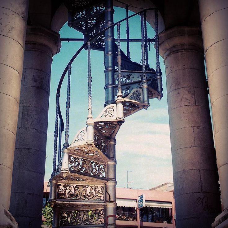 Η σκάλα του ρολογιού! (© Ioannina Clock Tower)