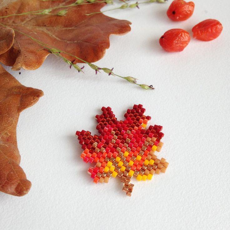 Feuille d'automne by Rose Moustache rosemoustache.com