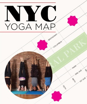NYC Yoga Map: The Best City Dens To Get Zen: Nyc Yoga, Maps, Yoga Map, Cities, Yoga Studios, Zen Refinery29, City Dens, Linda S Yoga