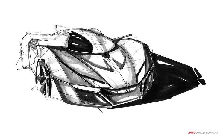 Bell & Ross AeroGT Supercar Concept Revealed - AutoConception.com