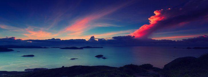Fotos De Frases Para Facebook: Nubes De Colores Portadas Para Facebook