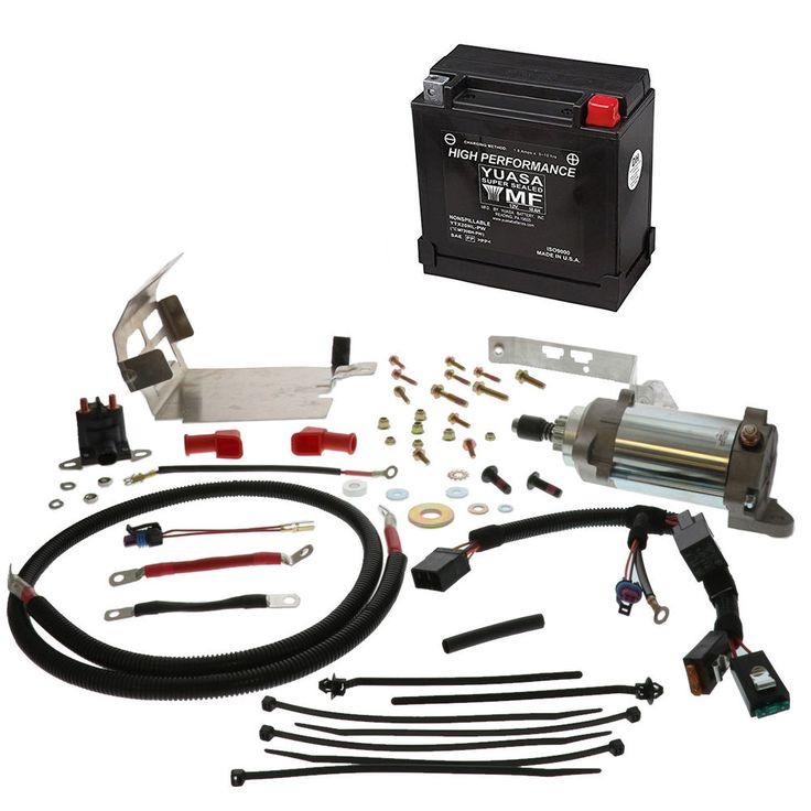 SPI Electric Start Kit & Battery for 2009-2016 Ski-Doo Replaces OEM # 860200627 #SPIYuasa