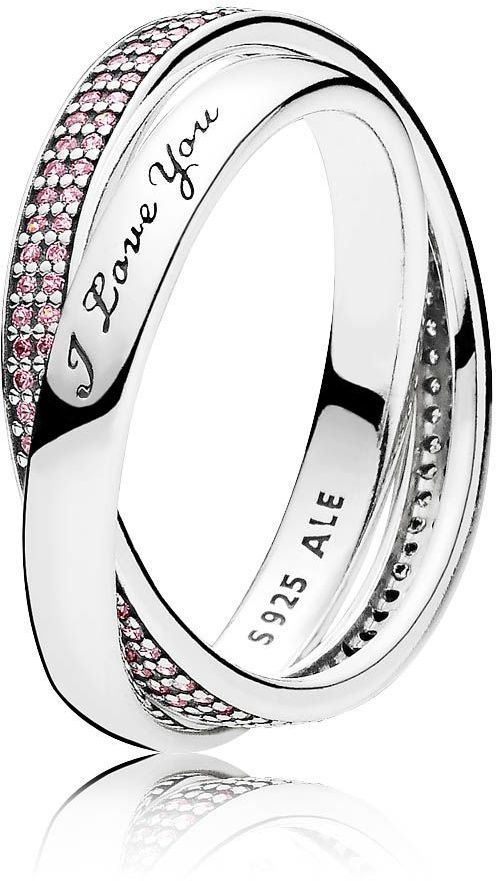 Pandora Sweet Promise Ring #pandora #promiserings #ring #sweet #pink #SterlingSilver #iloveyou #shopping #shoppingonline #onlineshopping #fashion #jewellery #style #love #promise