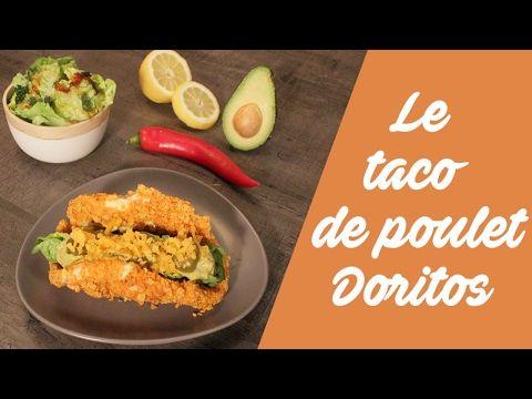 Vidéo - la recette des tacos de poulet doritos