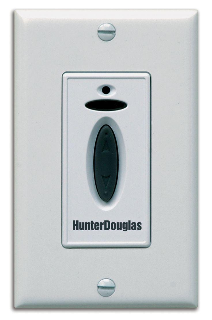 Hunter Douglas Platinum Wall Switch Motorized Wireless
