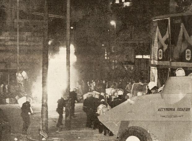 Η 7η Επέτειος του «Πολυτεχνείου»: Με τον Ανδρέα Παπανδρέου και το ΠΑΣΟΚ προ των πυλών της εξουσίας, και τη ΝΔ σε νευρική κρίση, γιορτάστηκε η 7η επέτειος από την εξέγερση του Πολυτεχνείου, το 1980, που ήταν και η πλέον αιματηρή της ιστορίας.
