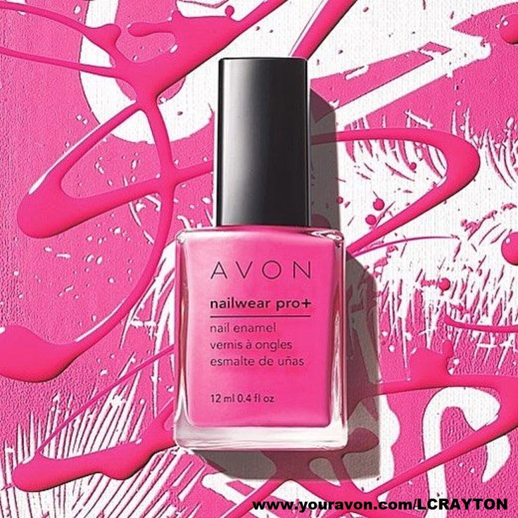Avon Pink Nail Polish: 32 Best Avon Products Nail Enamel Images On Pinterest