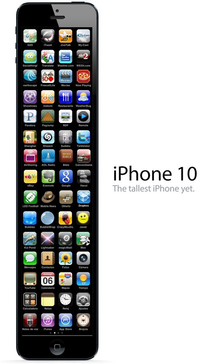 Behold, the iPhone 10