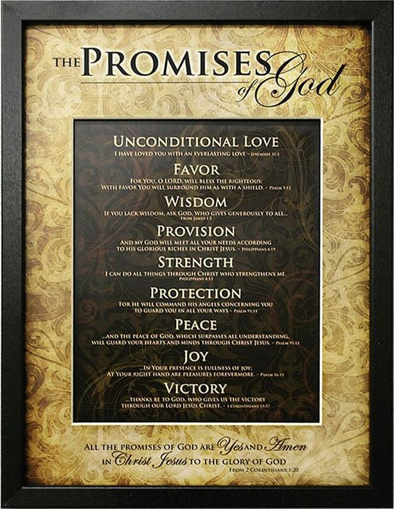 God's Bible Promises