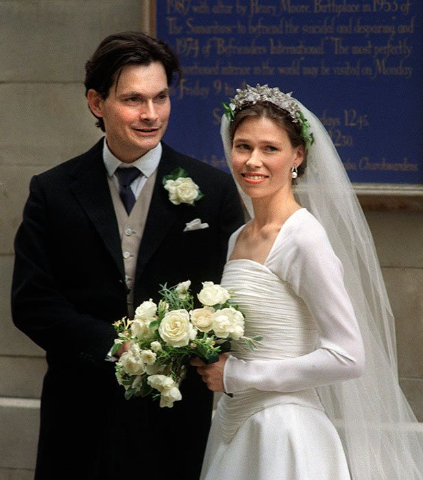 Lady Sarah Chatto The 21st in line to the throne married her husband Daniel Chatto in 1994.