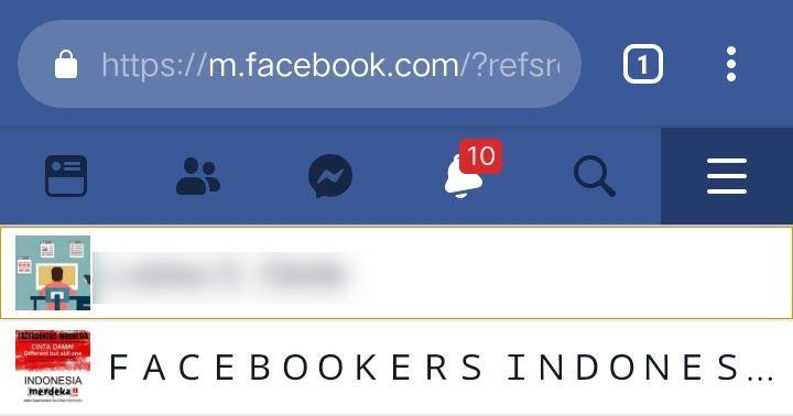 Cara Membuat Halaman / Fans Page Facebook Dari HP Terbaru | Blog ...