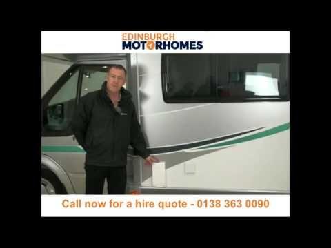 Motorhome hire and campervan rental Edinburgh - Call 0138 363 0090