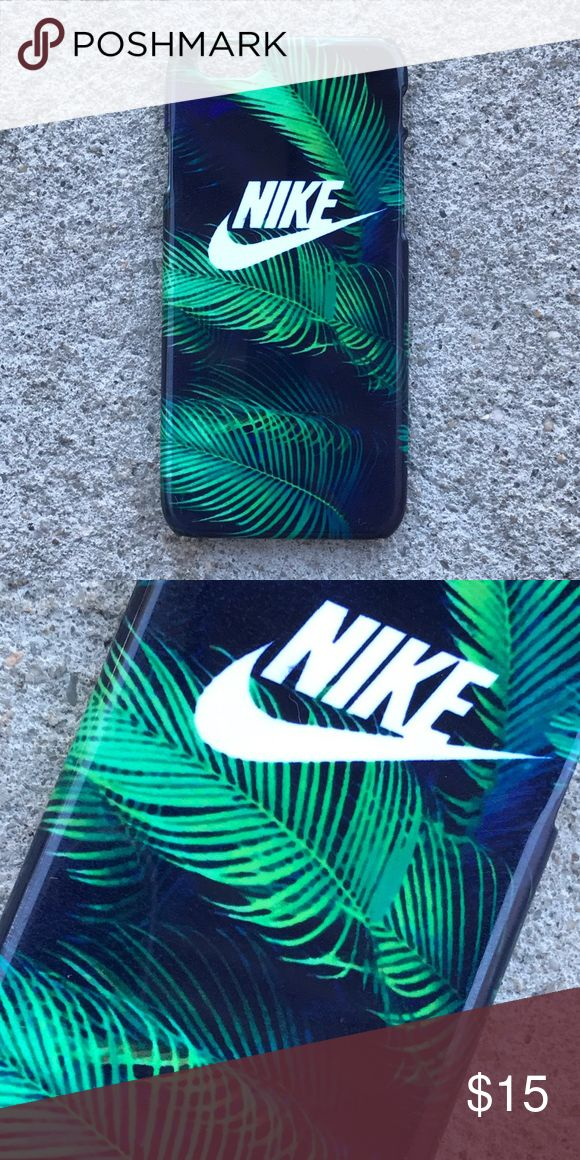 Nike Palm Tree Leaves Case for any iPhone!! Brand New in the packaging ! High Quality dope printed iPhone case !3D printed design all around the case. Price is firm unless looking for bundle deals. Then message me! Same or next day shipping with USPS Tracking provided! ***Message me or comment before purchase of the phone size you have, or else I will send the size in the title*** ALL CASES AVAILABLE FOR IPHONE 6/6S , 6 Plus / 6S Plus, iPhone 7, and iPhone 7 Plus! Much more dope designs in…