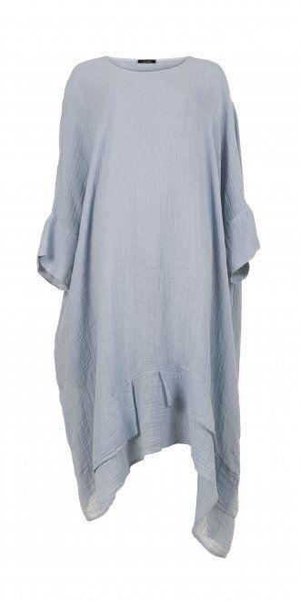 Idaretobe.com Pastel Blue Linen Dress
