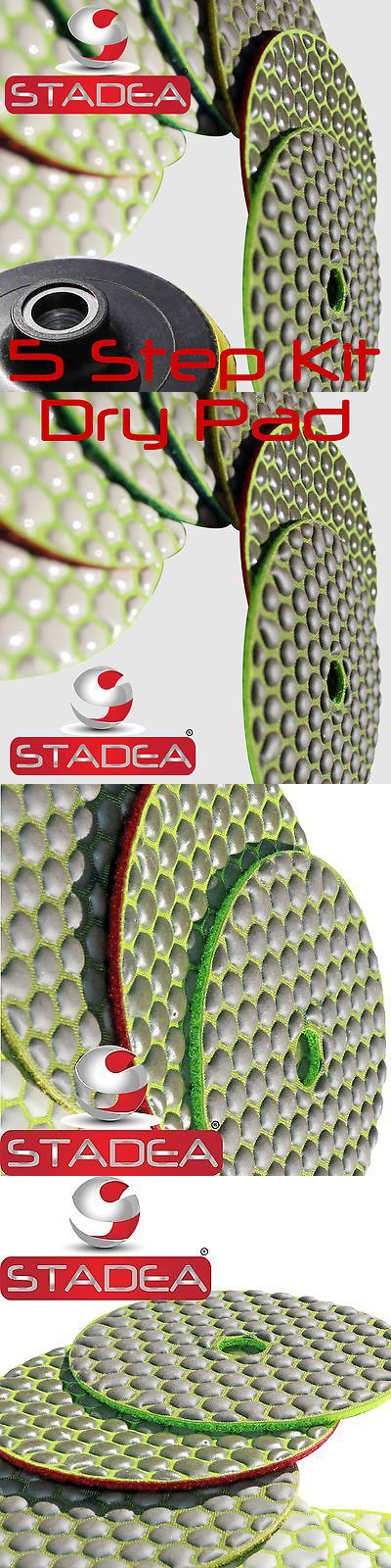 materials: Stadea 4 Diamond Dry Concrete Stone Marble Granite Polishing Pads Kit Discs Set -> BUY IT NOW ONLY: $33.99 on eBay!